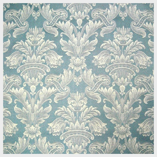 French Blue Damask