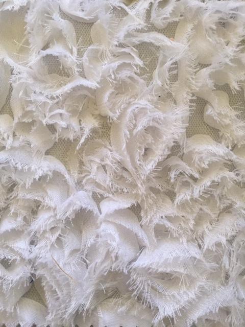 White Rose Chiffon