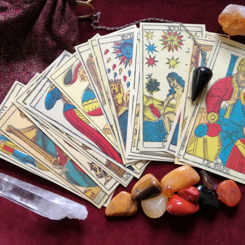 Learn To Read Tarot Intuitively - This program is designed to create clarity around how you read tarot intuitively and will give you the confidence to begin reading for others within four weeks.I will show you how to tap into your own spiritual language, and how to connect with your cards in real life from your soul, without memorizing or looking up card meanings.Each week you will receive pre-made video content via video or written posts, in accordance with your unique learning style. You'll also have weekly coaching calls to integrate all course material, learn, and ask questions!
