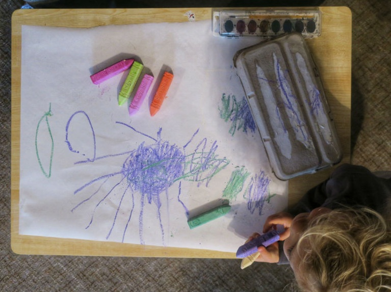 Ellie's Drawing of a Jellyfish