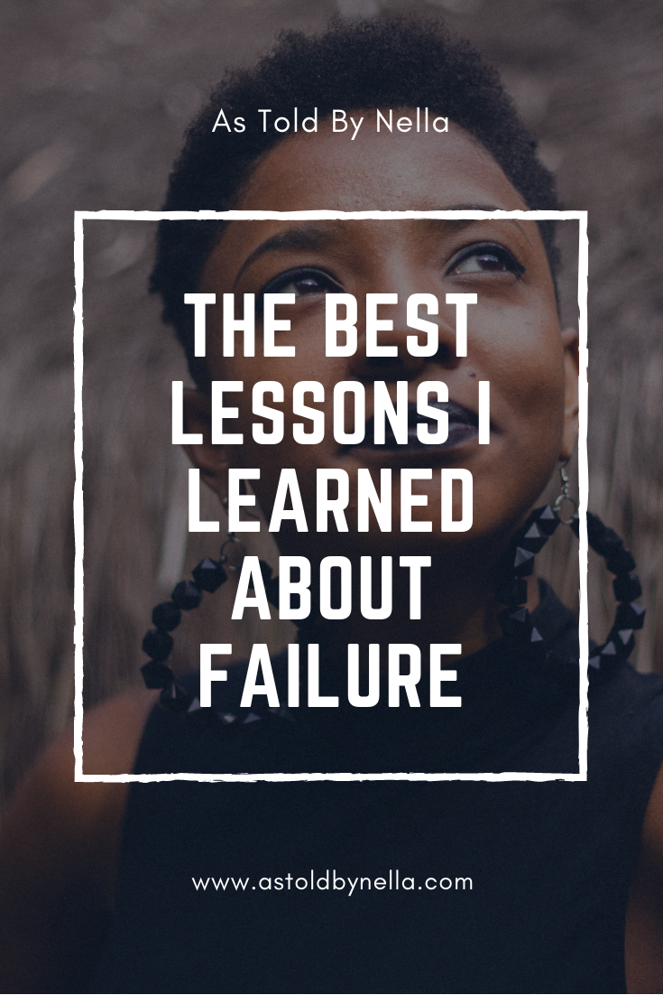 The Best Lessons Learnt About Failing