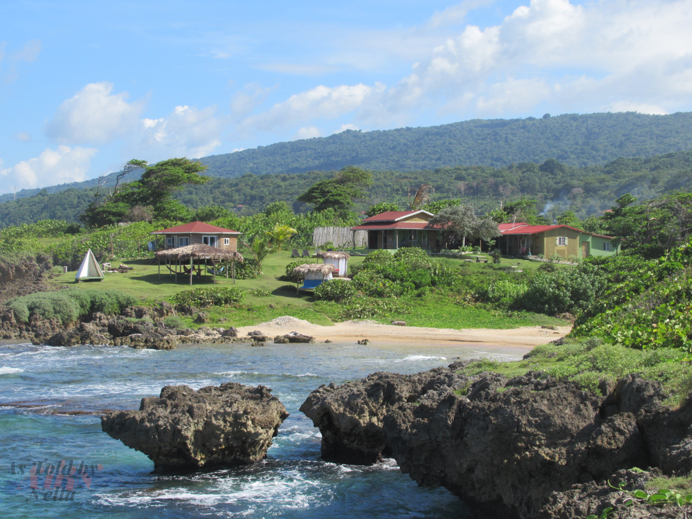 The scenic views of the Go Natural Jamaica Retreat Centre