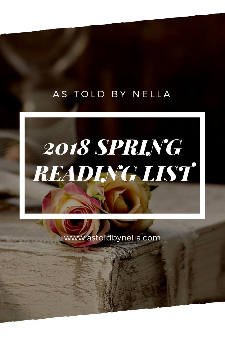 Spring 2018 reading list
