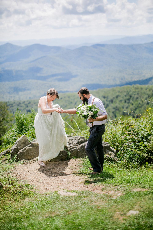 Heather & Jon, Asheville, NC