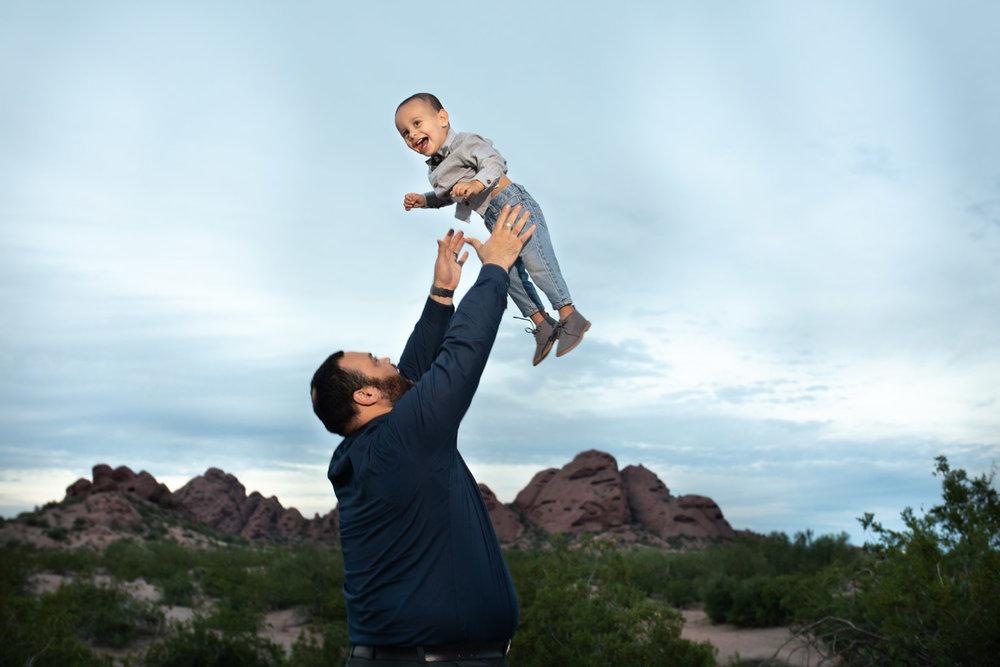 Gutierrez Family Session - Papago Park, Tempe, Arizona