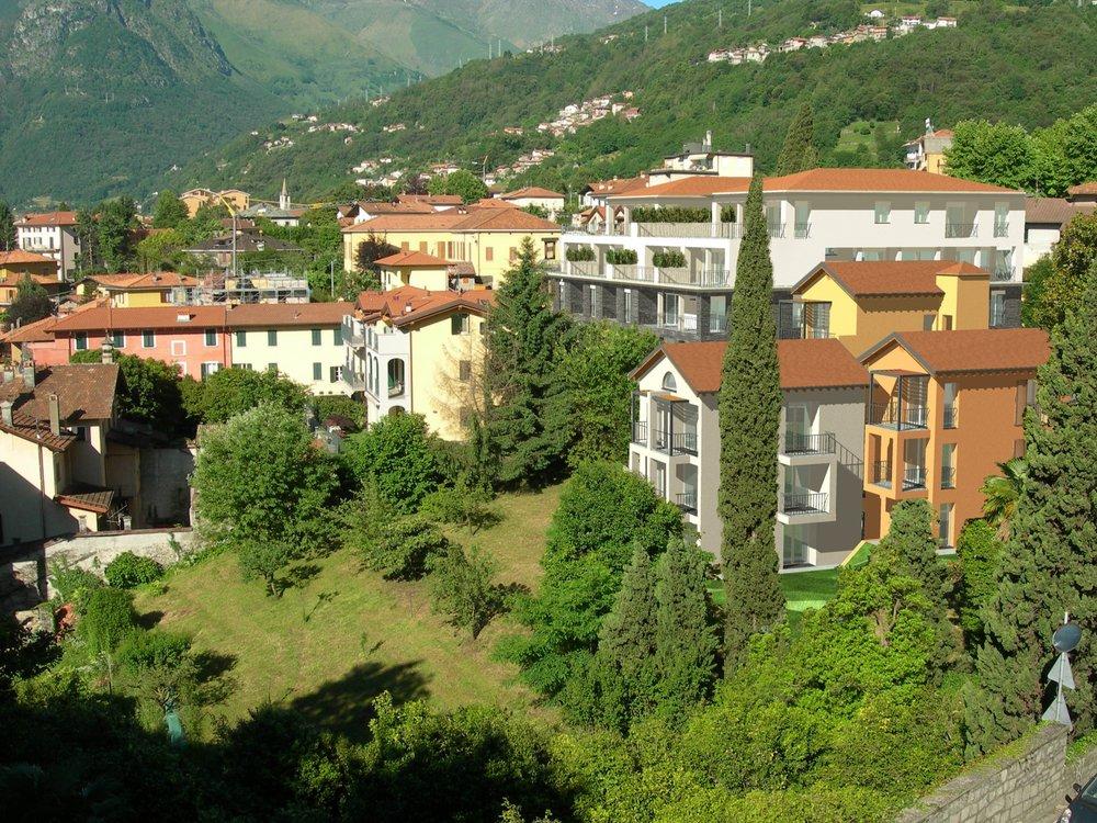Panoramic Land plot Lake Como -