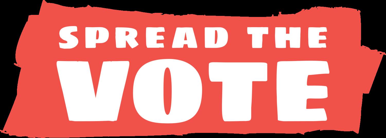 Spred the Vote logo