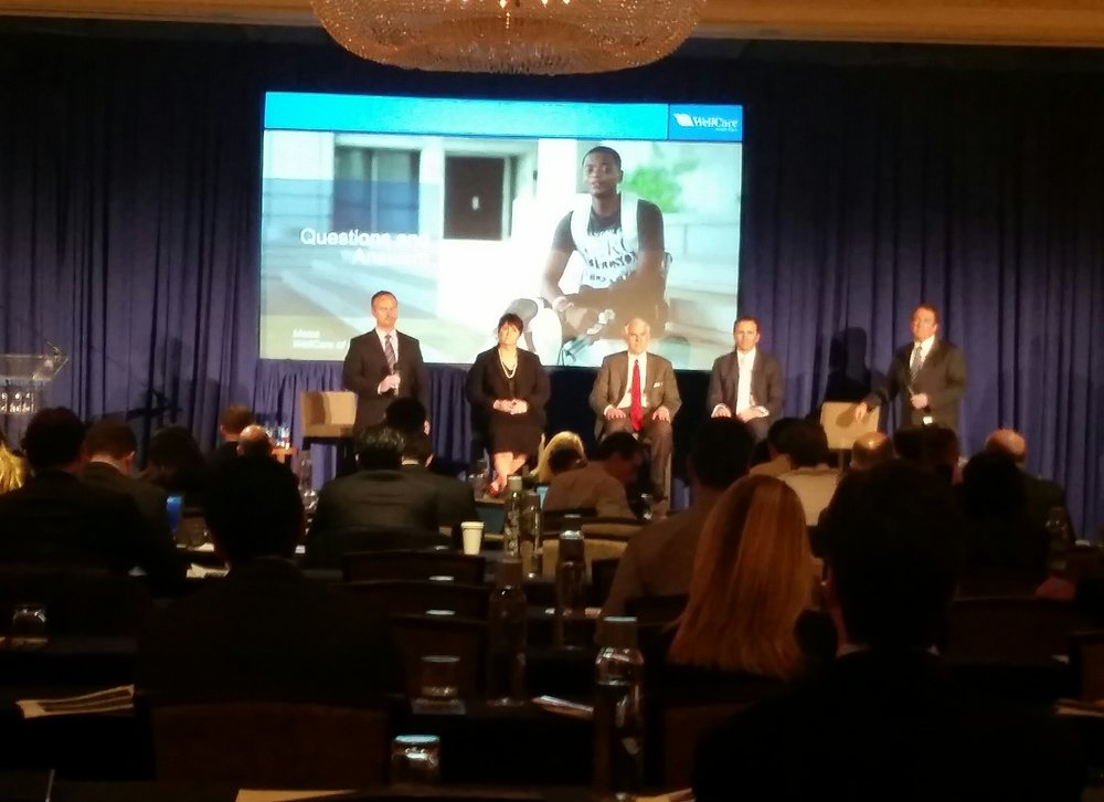 Panel Discussion + Rear Projection Screen