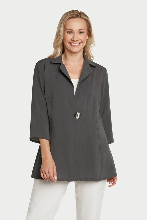 AA150 - One Button Long Jacket