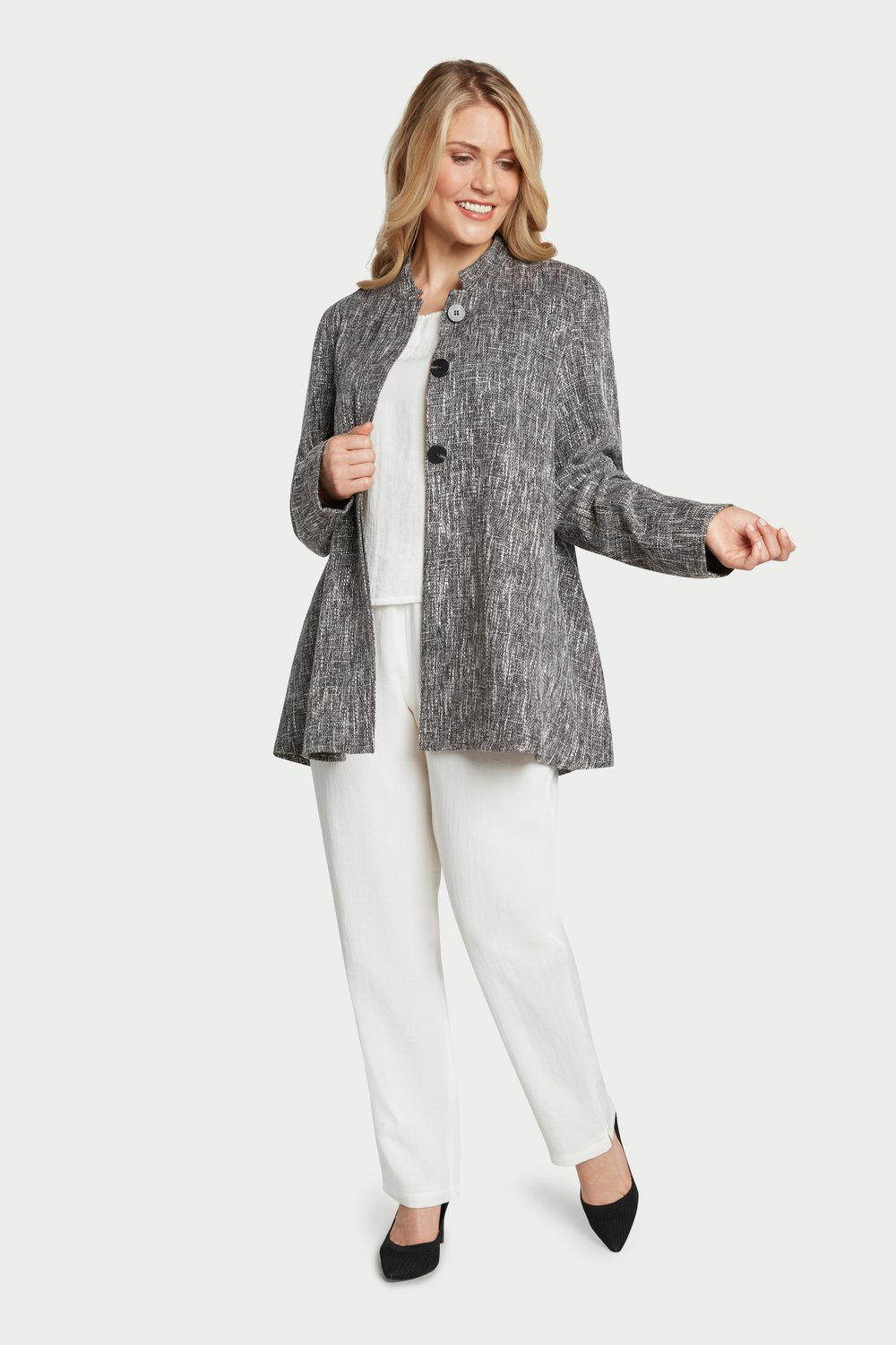 AA8010 - Sharon Jacket SG02 - Granite