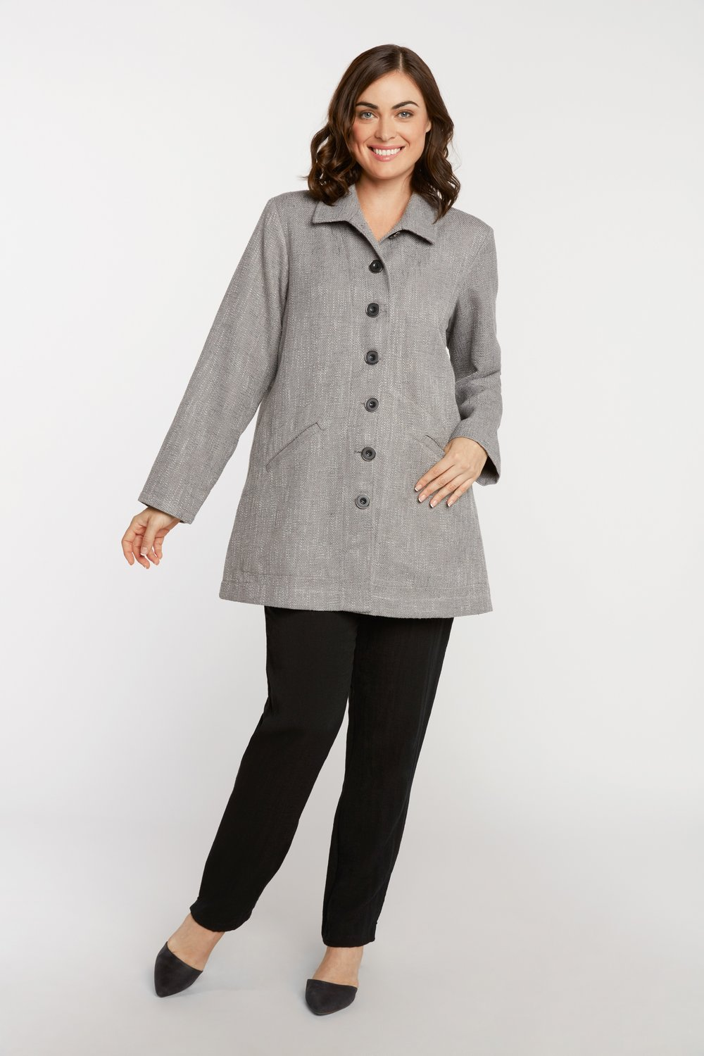 AA8109 - Banded Back Jacket SG27 - Grey