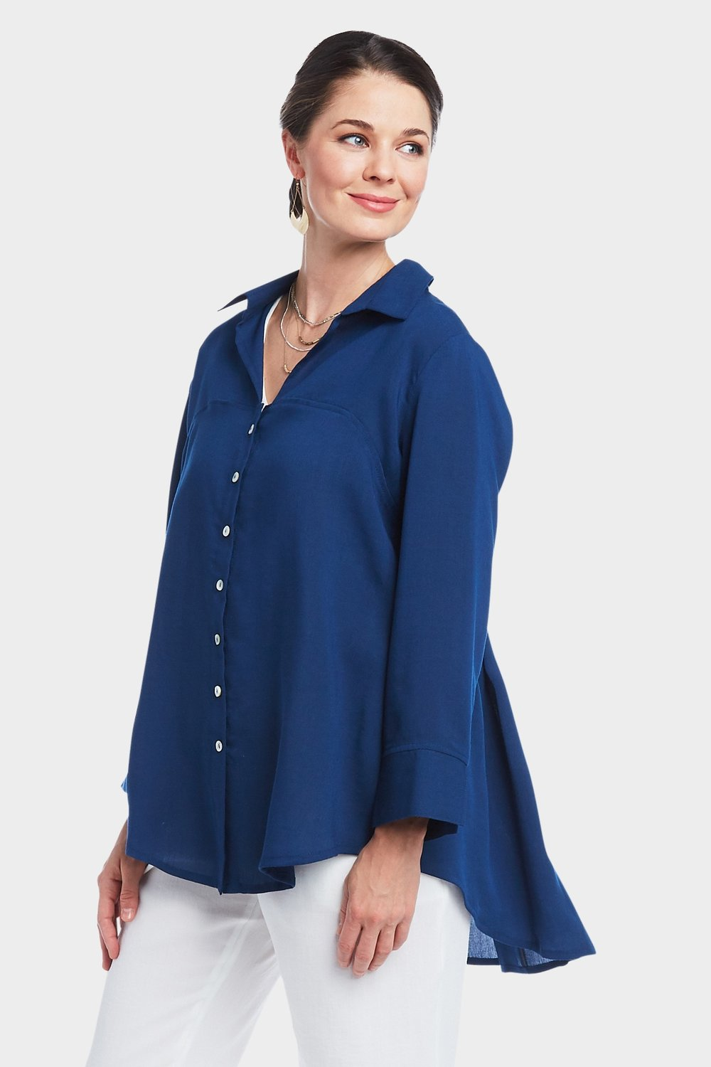 AA309 - Bow Back Blouse