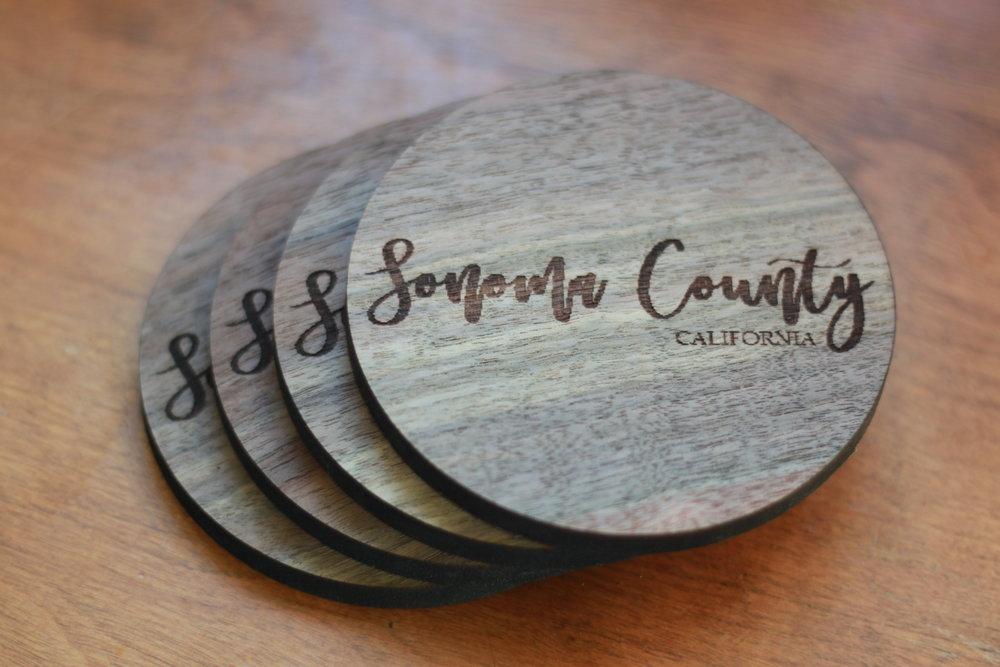 Sonoma County Wine Coasters