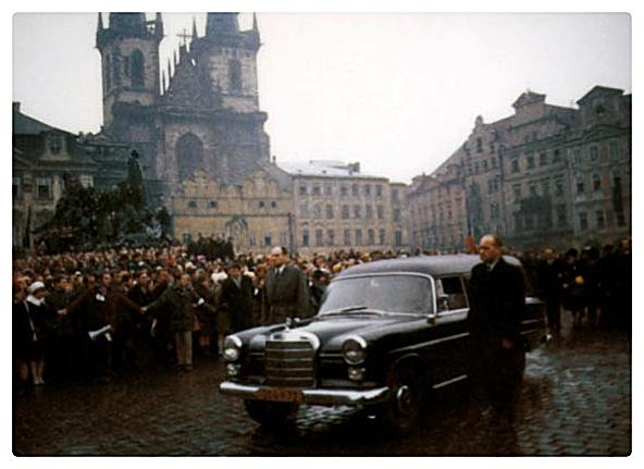 Funerale di Jan Palach, 25 gennaio 1969 | www.janpalach.cz