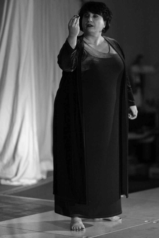 Zoe South as Brünnhilde