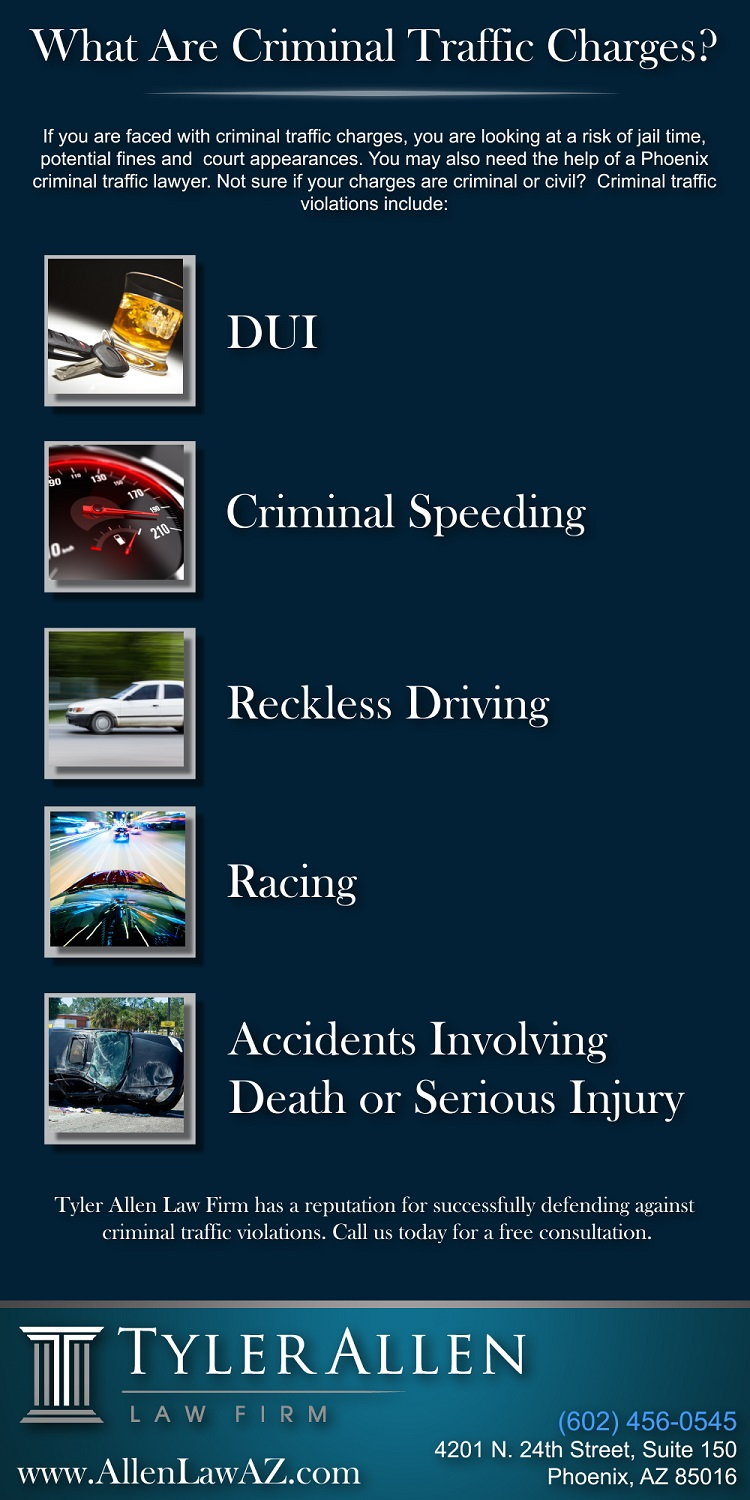 criminal traffic charges