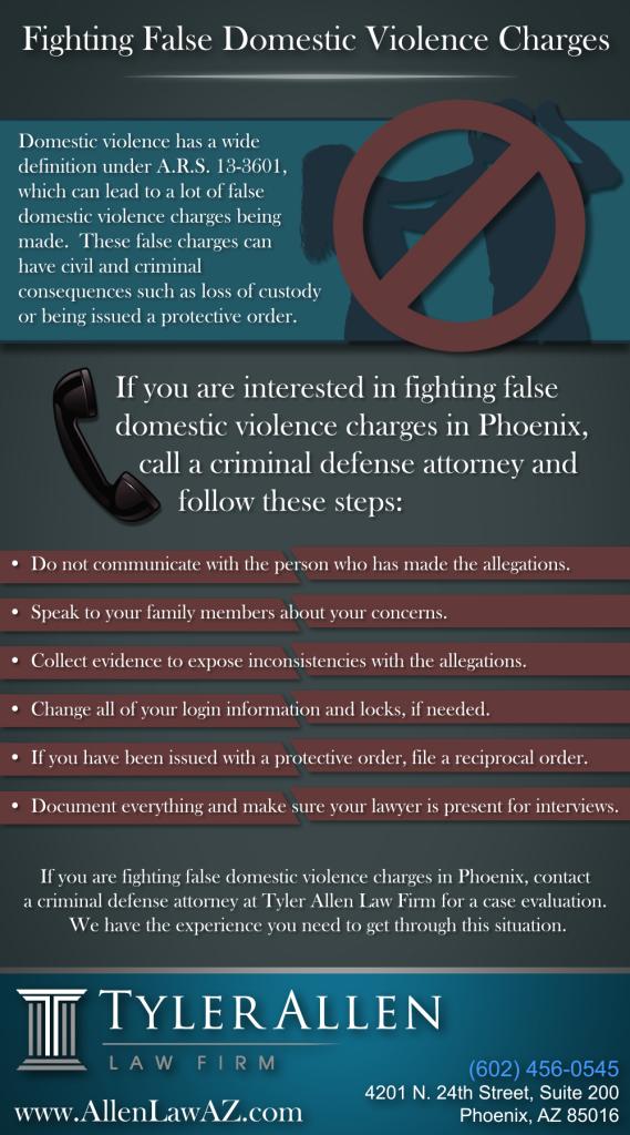 False Domestic Violence Charges Phoenix