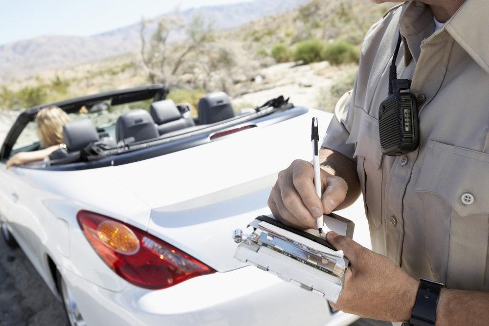 Arizona Traffic Ticket.