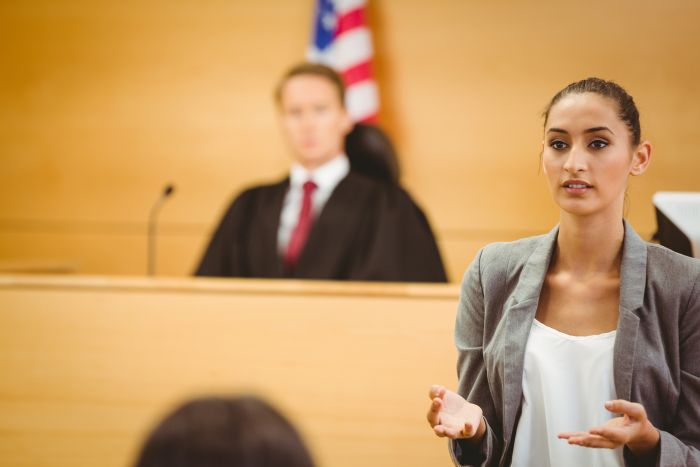 How to behave in court