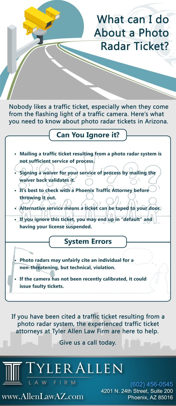 What can I do About a Photo Radar Ticket? [Infographic] | Blog