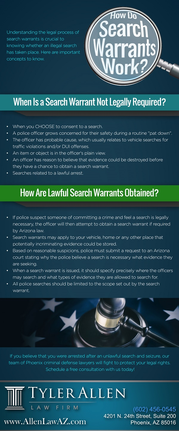 How do Search Warrants Work