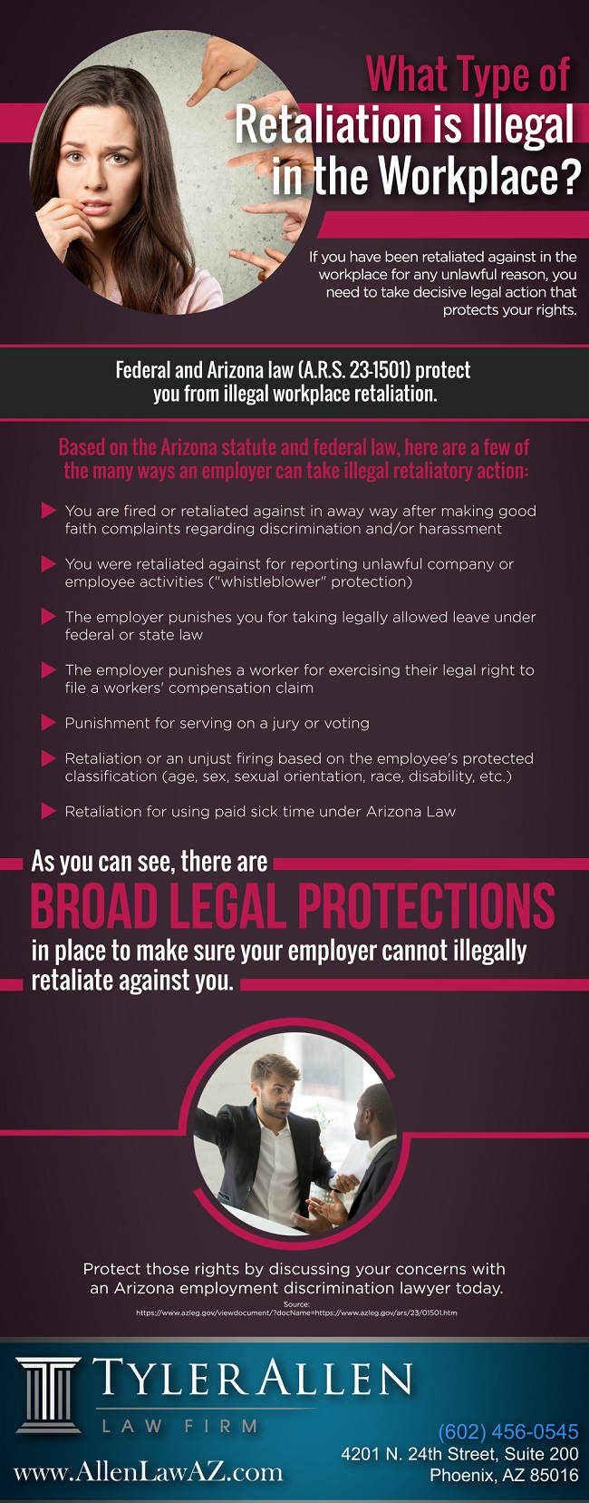 What Type of Retaliation is Illegal in the Workplace