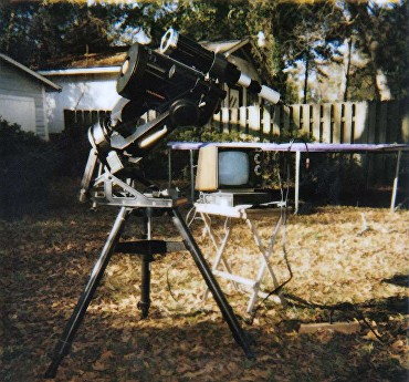 High-tech observing in the 90s...