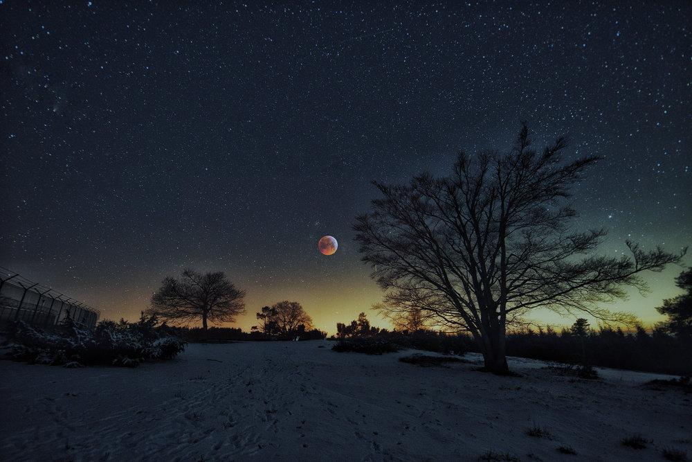 Lunar eclipse     Clemens Gilles