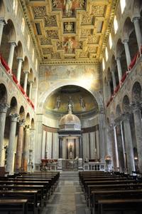 Pars interior ecclesiae Sanctae Agnetis.