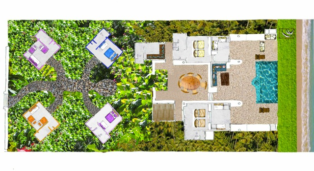 Layout of the house - This plan can help you plan who sleeps where