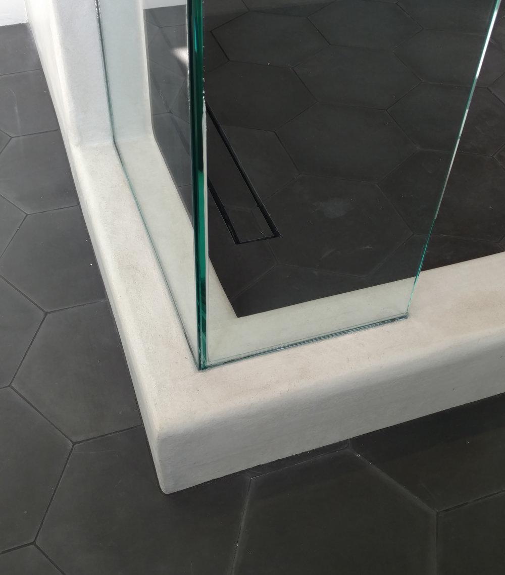 micro cement plaster shower walls san diego