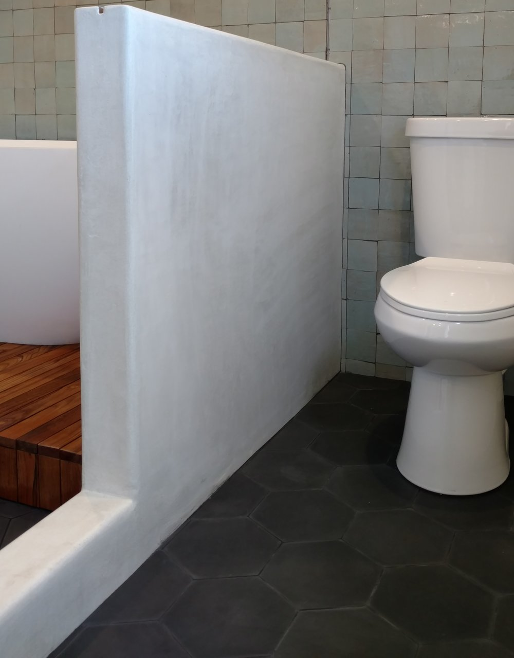 micro cement shower walls san diego