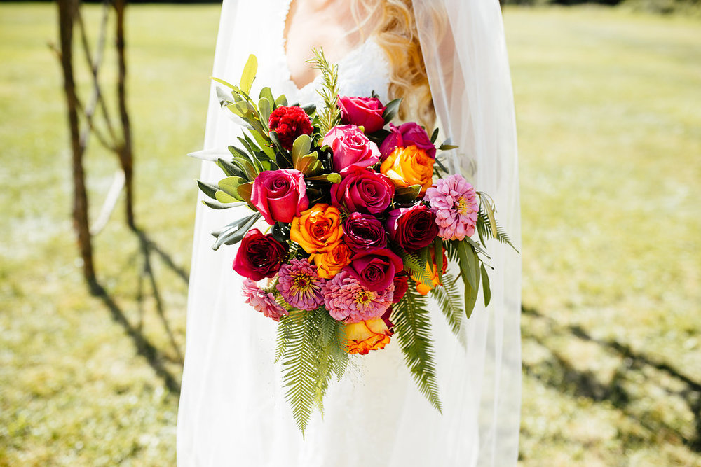 Wedding bouquet by Molly Taylor & Co.