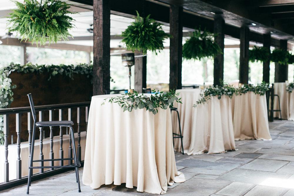 Cleveland Wedding Planner Modern Vintage Garden Wedding cocktail tables .jpg