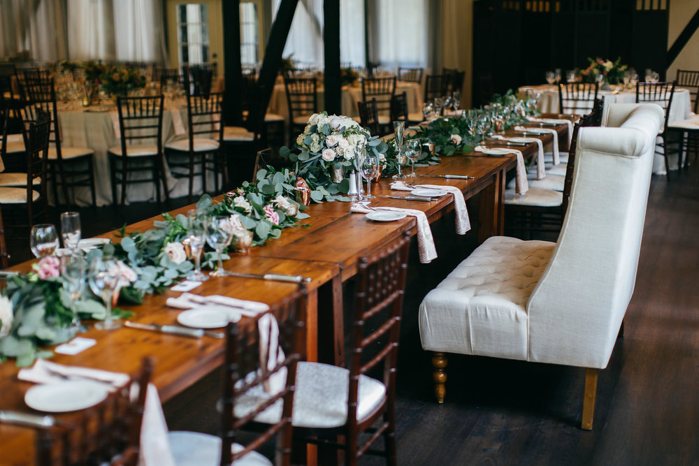 Cleveland Wedding Planner Modern Vintage Garden Wedding head table.jpg