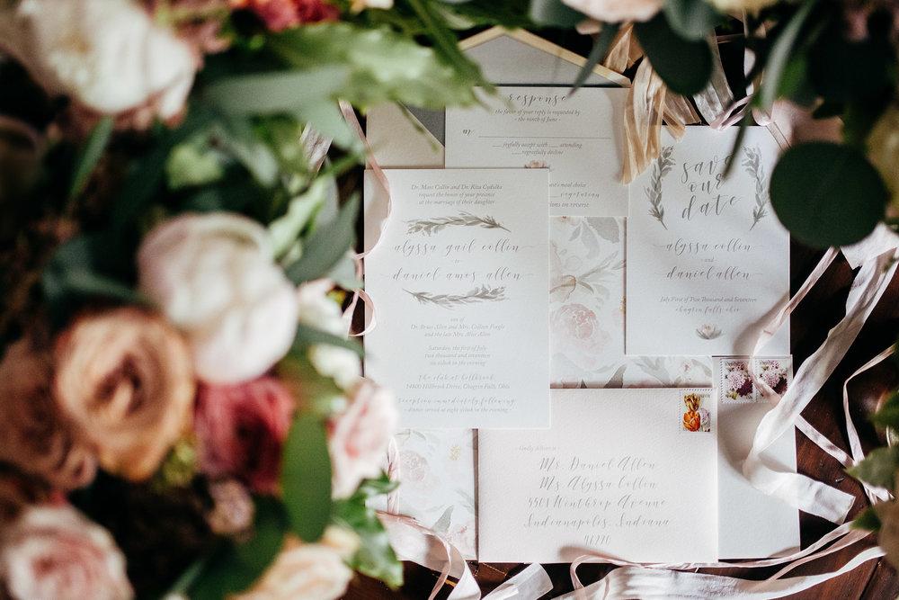 Cleveland Wedding Planner Modern Vintage Garden Wedding stationary.jpg