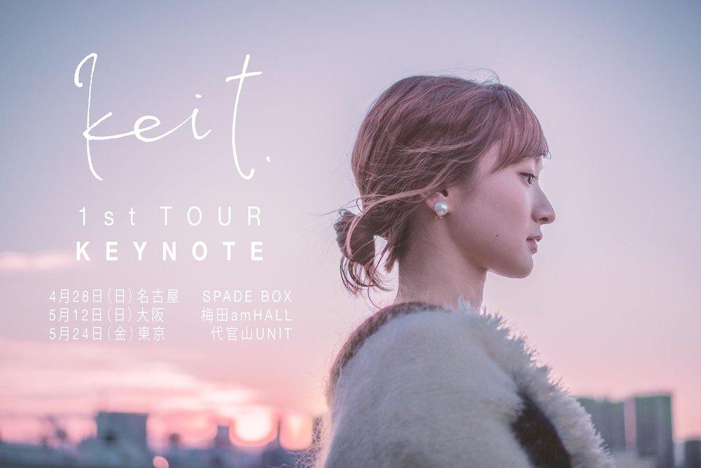 竹渕慶1stツアー「KEYNOTE」