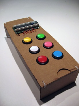 Project: Guitar with arcade buttons — BRAD SUCKS