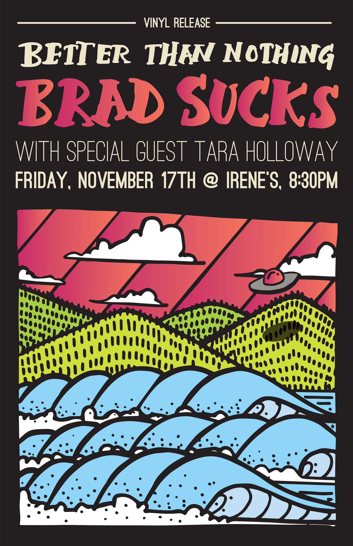 live — Brad Sucks — BRAD SUCKS