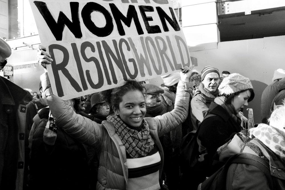 Women's March London 2017
