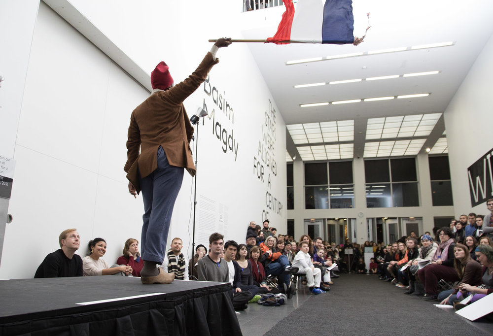 The Rational Dress Society presented A History of Counter-Fashion at the Museum of Contemporary Art Chicago on December 6th 2016.