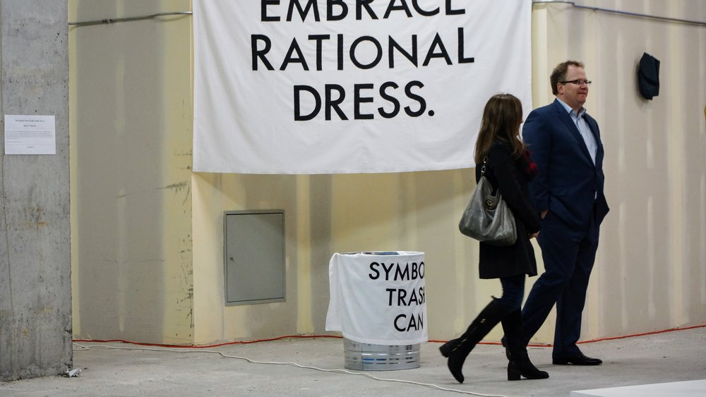 The Rational Dress Society presents THROW AWAY ALL OF YOUR CLOTHES!! at Connect+ Hyde Park, November 18th-20th 2016.