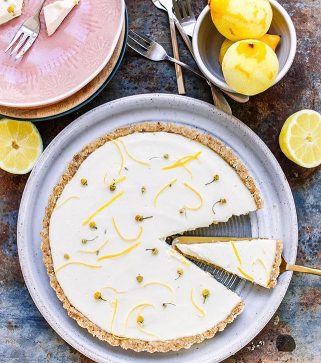 """Easter is almost upon us and I can't wait to dig into this delicious vegan, no-bake lemon tart by @healthy_twists 🍋 You can find the recipe over on our Resources Lounge on our website - find the link in our bio! ☝🏼☝🏼  P.S. Massive shout out to @tallyrye and her recent posts encouraging people to eat what they want over Easter. Food isn't just fuel - it's there to be enjoyed. It's a social thing. It's stirs feelings and nostalgia and no one should think that they need to """"earn"""" their food or feel guilty about choosing cake over kale once in a while.   Please savour every bite of your Easter egg, lemon tart or whatever you decide to eat this weekend. If you can put a healthy spin on it, great. If not, it's really not the end of the world! It's about what you put into your body MOST of the time over a long period that counts. It's also about eating in a way that doesn't have a negative impact on your wellbeing and let's face it, restriction and denying ourselves food that we enjoy undeniably does.   Do you have any fun plans for the weekend? Let us know in the comments below! 👇🏼👇🏼  #Easter #lemontart #recipe #vegan #veganrecipe #healthyrecipes #healthydessert #nobakedessert #easterrecipe #balance #foodporn #foodphotography #foodie #makesmewhole #plantbased #eatmoreplants #flourishingfemale #flourishcommunity #flourisheventsco #healthyeating #balance #moderation #intuitiveeating """