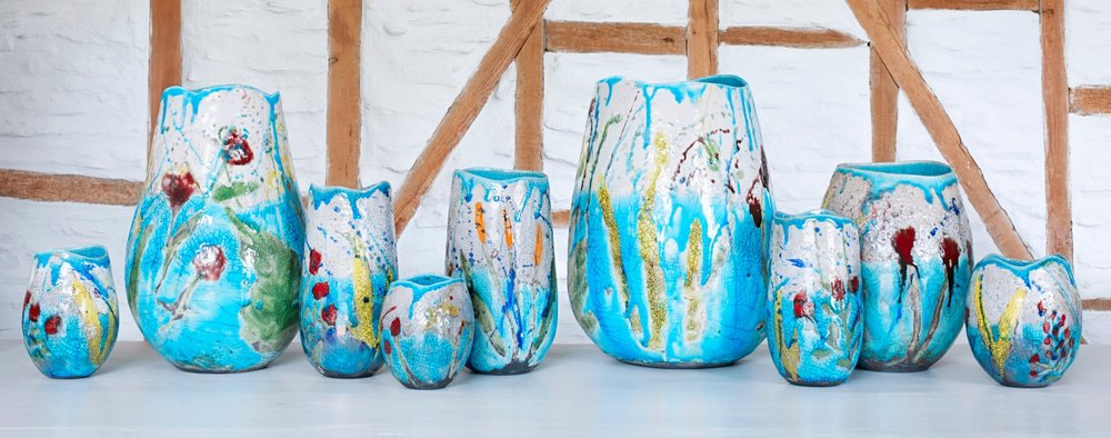 Wild Cornwall Pots photograph by Anya Rice