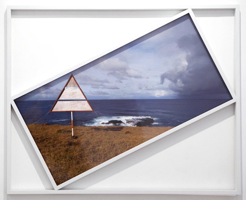"Viewfinder , 42"" x 48"", custom framed archival pigment print, 2013."