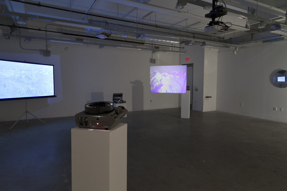 (installation view) ' Tupungato'