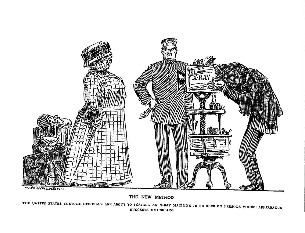 The New Method , A.B. Walker.  LIFE  Magazine, September 1910. Image courtesy of New York Historical Society.