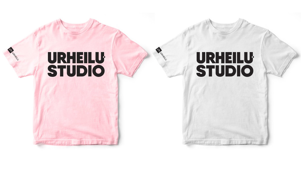 Branding for Yle Urheilustudio. T-shirt layout.