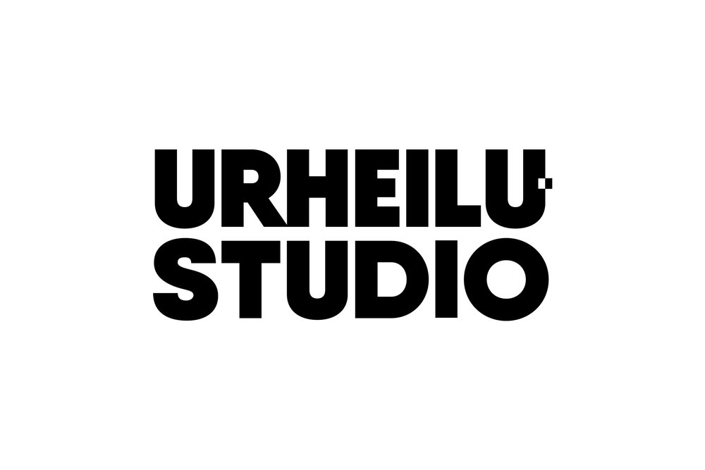 Urheilustudio logo simple, 1-color