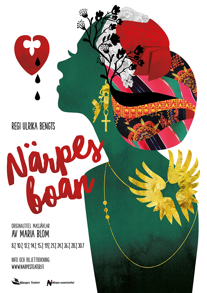 "Närpesboan - Original title ""Masjävlar"" by Maria BlomDirected by Ulrika Bengts 2016, 2017"